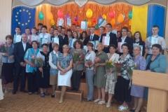 Вчителі та учні-переможці олімпіад